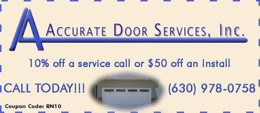 a accurate door service coupon Naperville